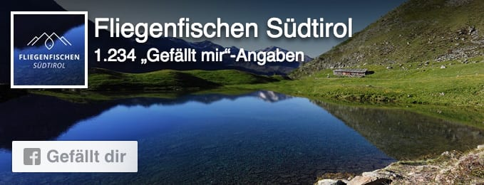 Fliegenfischen Südtirol auf facebook