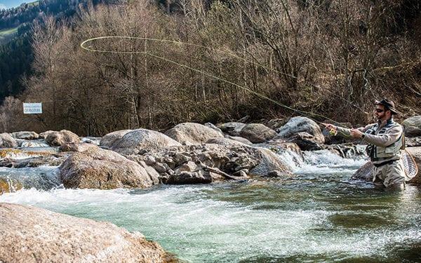 Fliegenfischen Südtirol Passer